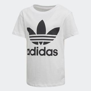 アディダス(adidas)の110【新品/即日発送】adidas オリジナルス キッズ Tシャツ 白(Tシャツ/カットソー)