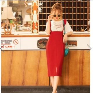 グレイル サス付きタイトスカート(ひざ丈スカート)
