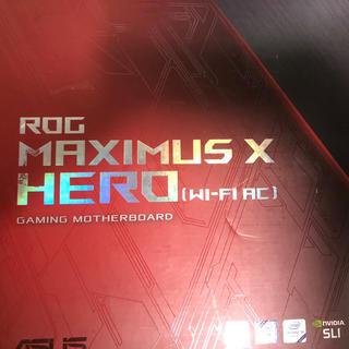 エイスース(ASUS)のASUS ROG MAXIMUS X HERO WIFI AC LGA1151(PCパーツ)