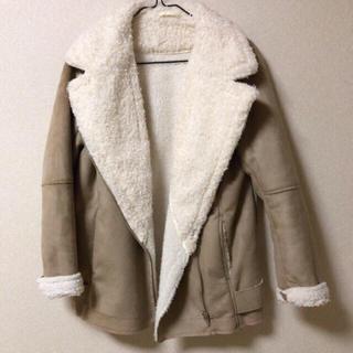 ジーユー(GU)のファーコート(毛皮/ファーコート)