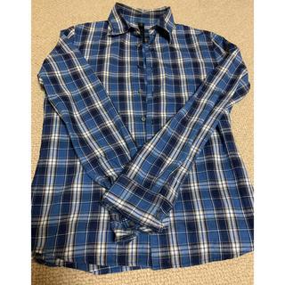 ダブルジェーケー(wjk)のwjk  ブルー チェックシャツ(シャツ)
