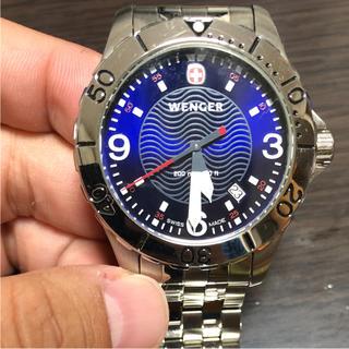 ウェンガー(Wenger)のWENGER ウェンガー 腕時計 ダイバー ウォッチ(腕時計(デジタル))