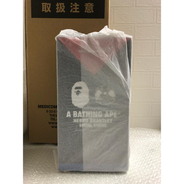 A BATHING APE(アベイシングエイプ)のA BATHING APE BE@RBRICK 400% 新品未開封 国内正規品 エンタメ/ホビーのフィギュア(その他)の商品写真