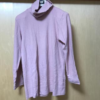 ユニクロ(UNIQLO)のタートルネックフリース XL(ニット/セーター)