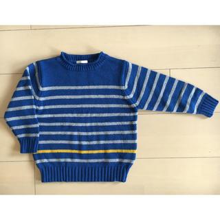 ジーユー(GU)の新品未使用 GU 男の子 セーター ニット 110㎝(ニット)
