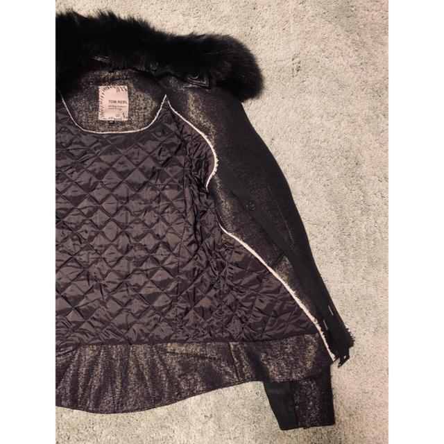 TOM REBL(トムレヴェル)の【玉露さま専用】TOM REBL ライダース ジャケット 中古美品 メンズのジャケット/アウター(ライダースジャケット)の商品写真