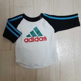 アディダス(adidas)の70サイズ■adidas■ラグランTシャツ(Tシャツ)