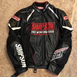 シンプソン(SIMPSON)のSIMPSON ライダージャケット(ライダースジャケット)
