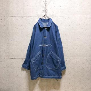 [used]denim raglan jacket/coat.(Gジャン/デニムジャケット)