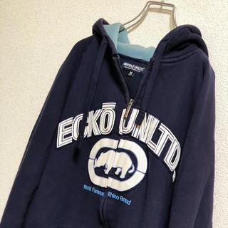 エコーアンリミテッド(ECKO UNLTD)のECKO UNLTD エコーアンリミテッド ジップアップパーカー ビッグロゴ(パーカー)