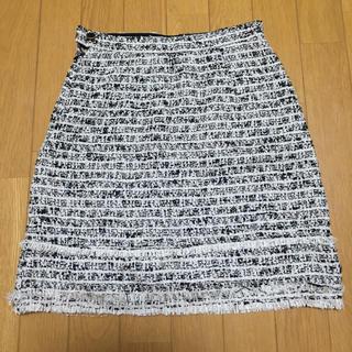 デュアルスレッド(Dual THREAD)の美品 dual THREAD ツイードスカート(ミニスカート)
