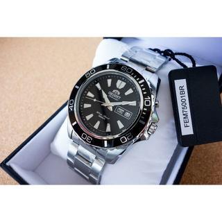新品 オリエント ダイバーズ FEM75001B マコXL ブラック