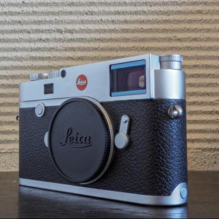 ライカ(LEICA)の【美品】ライカ Leica M10 Typ 3656 ボディ シルバー(デジタル一眼)