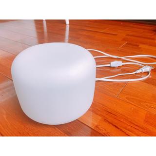 ムジルシリョウヒン(MUJI (無印良品))の【無印良品】ガラス 照明 ライト LED(テーブルスタンド)