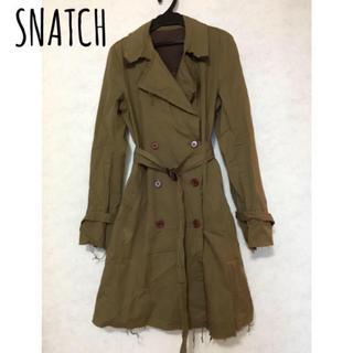 スナッチ(Snatch)のSnatch/トレンチコート〈値下げ中〉(トレンチコート)