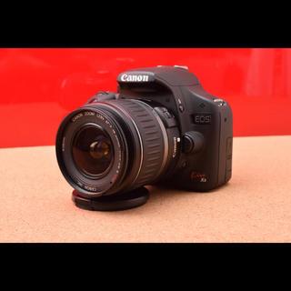 キヤノン(Canon)のCanonEOS Kiss X3レンズ!Wi-Fi付SD&選べるバック10-23(デジタル一眼)