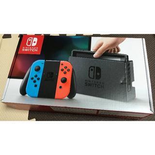 ニンテンドースイッチ(Nintendo Switch)の【新品】Nintendo Switch 本体 ネオン(家庭用ゲーム機本体)