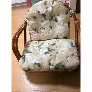 藤回転座椅子(座椅子)