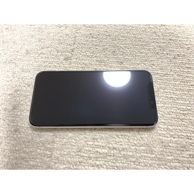 iPhone(アイフォーン)のiPhone X 256GB SIMフリー化済み スマホ/家電/カメラのスマートフォン/携帯電話(スマートフォン本体)の商品写真