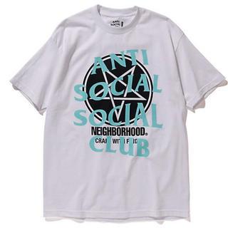 ネイバーフッド(NEIGHBORHOOD)のanti social social club neighborhood(Tシャツ/カットソー(半袖/袖なし))