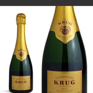 クリュッグ(Krug)のクリュッグ グラン キュヴェ 新品送料無料(シャンパン/スパークリングワイン)