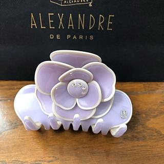 アレクサンドルドゥパリ(Alexandre de Paris)の新品♡未使用品♡【Alexandre de Paris】カメリアクリップ(バレッタ/ヘアクリップ)