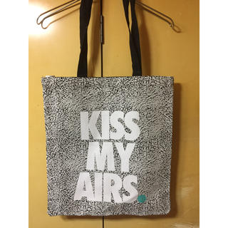ナイキ(NIKE)の日本未発売 NIKE TOTE BAG KISS MY AIRS トートバッグ(トートバッグ)