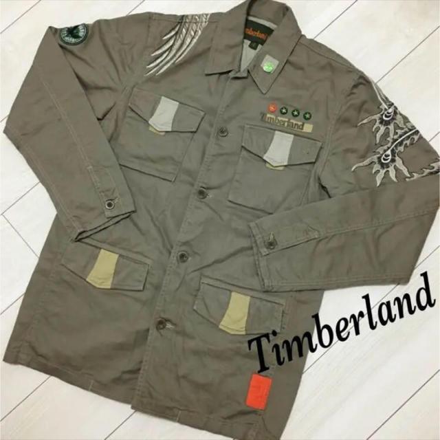 Timberland(ティンバーランド)の美品★ティンバーランド ジャケット メンズのジャケット/アウター(ミリタリージャケット)の商品写真