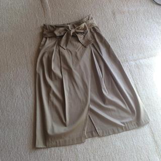 ザラ(ZARA)のZARA ラップ風スカート(ロングスカート)