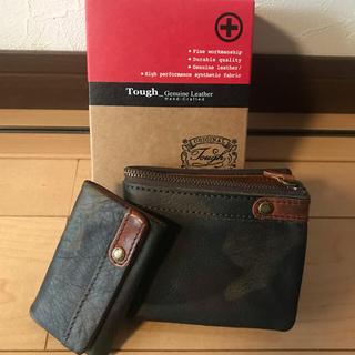 タフ(TOUGH)のtough タフ / 2つ折り財布 キーケース セット 未使用(折り財布)