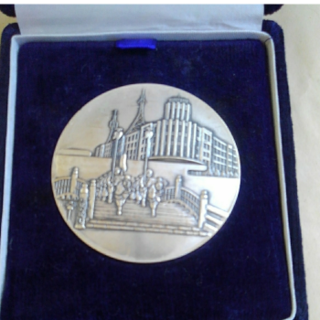 追跡付き送料込み  中央警察署解決記念昭和50年6月メダル大きさ6.5センチ(その他)