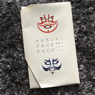 歌舞伎 フェイスパック(パック/フェイスマスク)