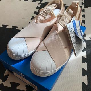 アディダス(adidas)の専用値下 新品タグ付 adidas アディダス SSスリッポン24.5㎝(スリッポン/モカシン)
