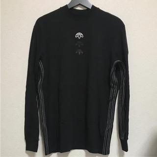 アディダス(adidas)のadidas × Alexander Wang  コラボ 3ストライプ ロンT(Tシャツ/カットソー(七分/長袖))