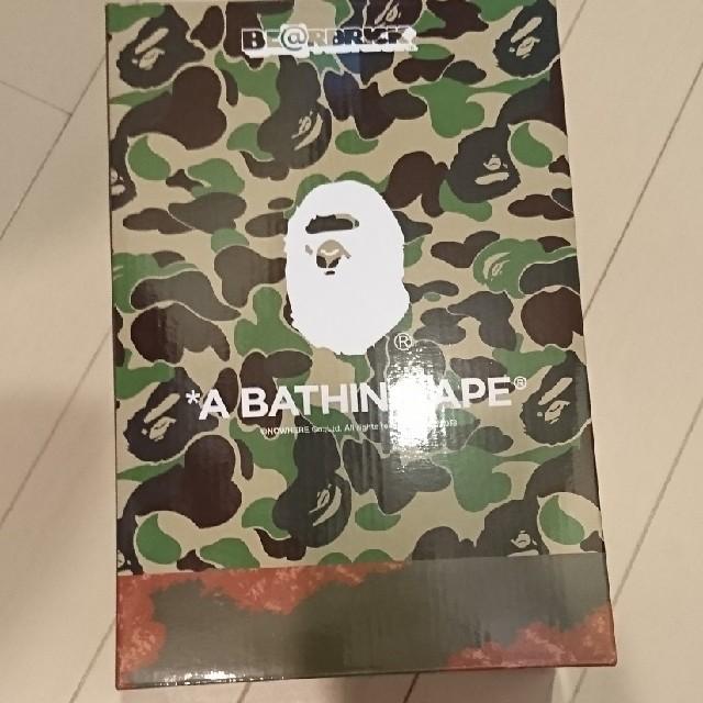 A BATHING APE(アベイシングエイプ)の READYMADE ✕ A BATHING APE ベイプ ベアブリック  エンタメ/ホビーのフィギュア(その他)の商品写真