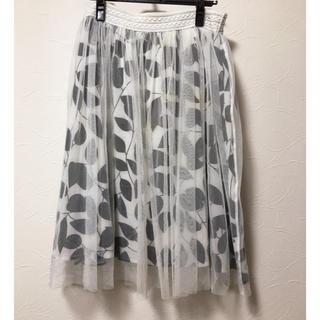 ウーム(WOmB)のチュールスカート ロングスカート WOMB(ロングスカート)