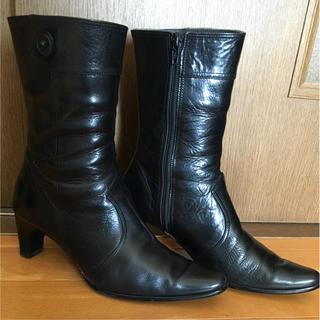 アカクラ(Akakura)のAKAKURA ブーツ 23.5cm(ブーツ)