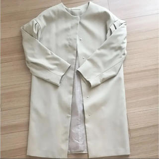 ジーユー(GU)のGU♡ノーカラーコート(ノーカラージャケット)