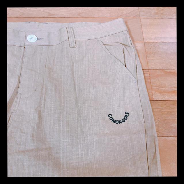 Burton Golf(バートンゴルフ)の新品未使用ゴルフウェア★COMONGOLFハーフパンツ 2XLサイズ メンズのパンツ(ショートパンツ)の商品写真