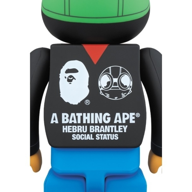A BATHING APE(アベイシングエイプ)のBE@RBRICK 1000% BAPE HEBRU ベアブリック APE エンタメ/ホビーのフィギュア(その他)の商品写真