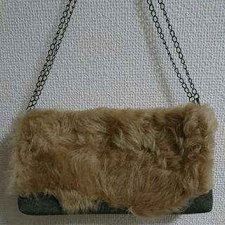 カズタカカトウ(KAZUTAKA KATOH)のファーバッグ(ショルダーバッグ)