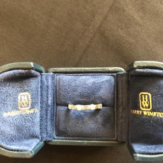 ハリーウィンストン(HARRY WINSTON)のハリーウィンストン ウエディングバンド エタニティ リング ダイヤ(リング(指輪))