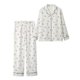 ジーユー(GU)のGU サテンキャットパジャマ(パジャマ)