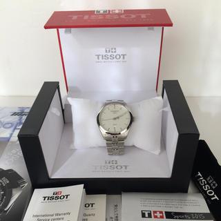 ティソ(TISSOT)のTISSOT PR100 クォーツ デイト メンズ(腕時計(アナログ))