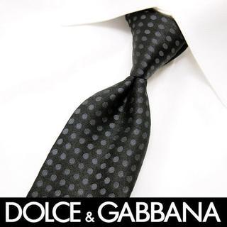 ドルチェアンドガッバーナ(DOLCE&GABBANA)の88 DOLCE&GABBANA ブラック ネクタイ(ネクタイ)
