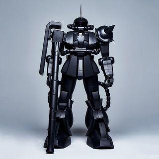 バンダイ(BANDAI)のHY2M 1/12 MS-06S ZAKU ll ザク マスターマインド ①(プラモデル)