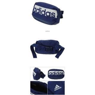 アディダス(adidas)のアディダス ウエストバッグ ネイビー(ボディバッグ/ウエストポーチ)