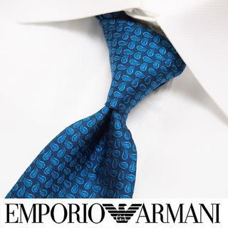 エンポリオアルマーニ(Emporio Armani)の108 EMPORIO ARMANI 総柄 SILK 100% ネクタイ(ネクタイ)