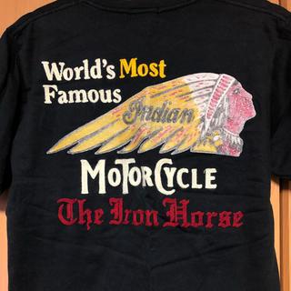 インディアン(Indian)の【交渉可能】 Indian Motor Cycle 刺繍Tシャツ インディアン(Tシャツ/カットソー(半袖/袖なし))