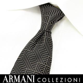 アルマーニ コレツィオーニ(ARMANI COLLEZIONI)の177 ARMANI COLLEZIONI ブラック系シルクネクタイ(ネクタイ)